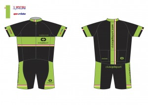 Club Cyclopark kit design